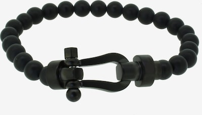Hafen-Klunker Armband 'Happiness Collection 110541' in schwarz, Produktansicht