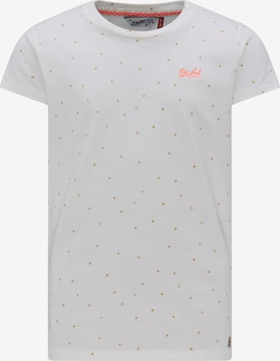Petrol Industries T-Shirt in ecru / weiß, Produktansicht