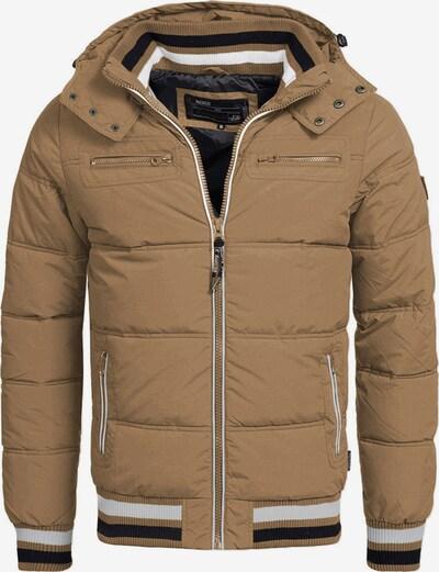 INDICODE JEANS Winterjas 'Marlon' in de kleur Bruin, Productweergave