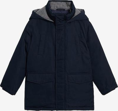 MANGO KIDS Mantel in de kleur Navy, Productweergave