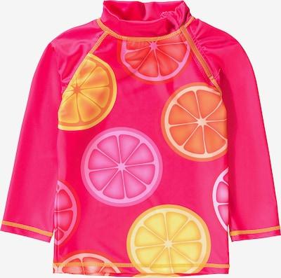 SWIMPY Schwimmshirt in gelb / neonorange / neonpink / cranberry, Produktansicht