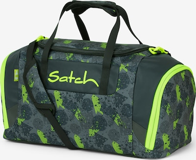 Satch Tasche in basaltgrau / tanne / neongrün, Produktansicht