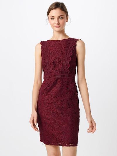 Rochie mulate 'VANIA' TFNC pe roșu merlot, Vizualizare model