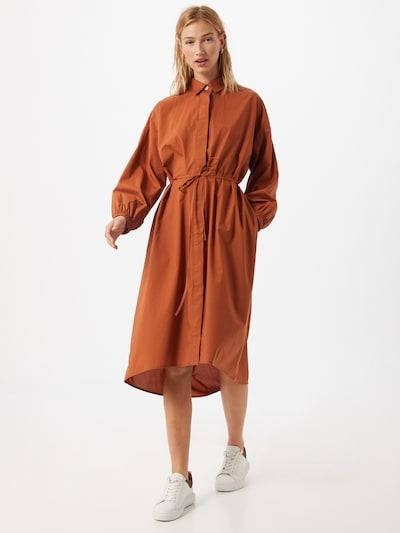 GAP Košeľové šaty - hnedá, Model/-ka