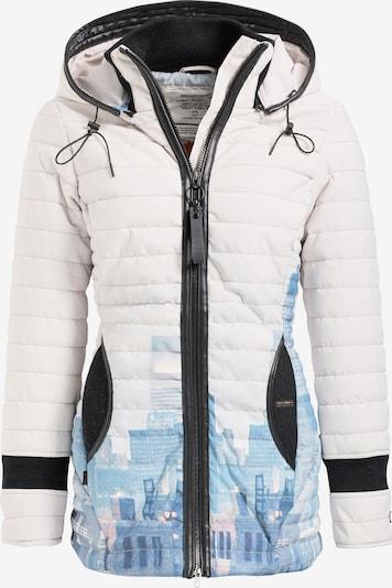 khujo Jacke ' MIDD2 ' in hellblau / weiß, Produktansicht
