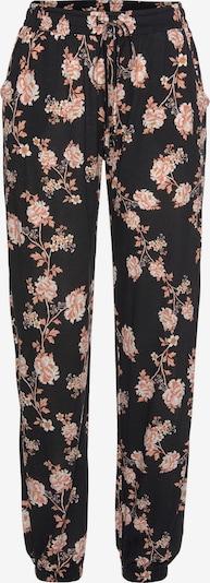 LASCANA Strandhose in rosa / schwarz, Produktansicht