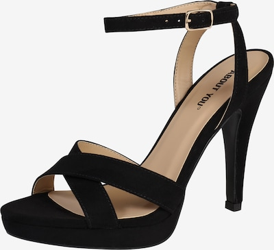 ABOUT YOU Plateau-Pumps 'Valentina' in schwarz, Produktansicht