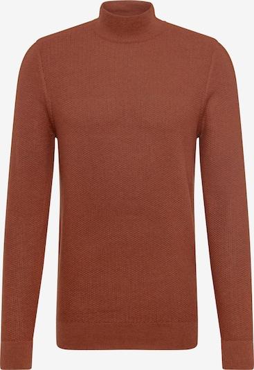 BURTON MENSWEAR LONDON Pullover in rostbraun, Produktansicht