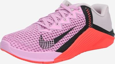 NIKE Sportschoen 'Metcon 6' in de kleur Pink / Zwart, Productweergave