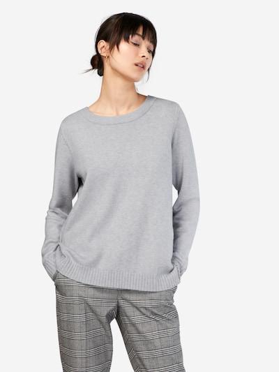 VILA Pullover in hellgrau, Modelansicht