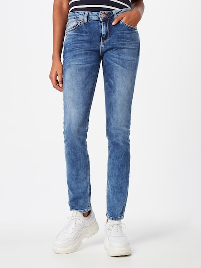 LTB Slim Fit Jeans 'Aspen' in blau, Modelansicht