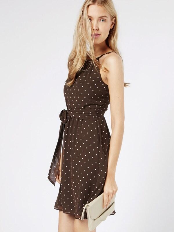 Esprit Collection Kleid mit Punktmuster