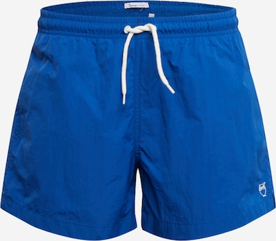 KnowledgeCotton Apparel Badehose 'BAY' in royalblau, Produktansicht