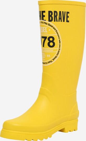 DIESEL Stiefel 'Jaarden' in gelb, Produktansicht