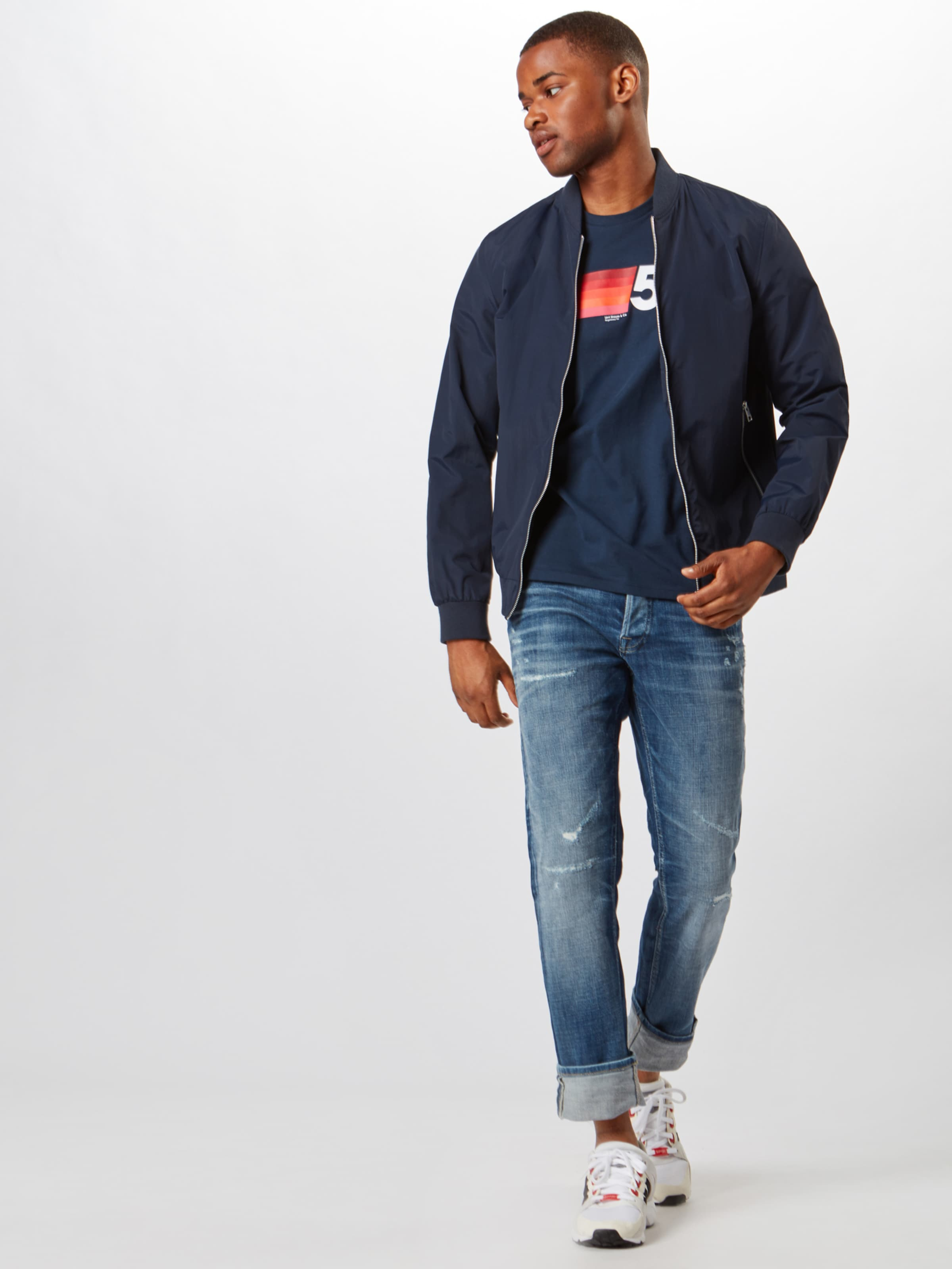 Couleurs Sweat Levi's FoncéMélange Bleu En De shirt CxsQdthr