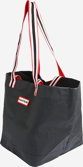 HUNTER Shopper 'ORIGINAL LIGHTWEIGHT RUBBERISED TOTE' in schwarz, Produktansicht