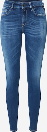 REPLAY Jeans 'New Luz' in blue denim: Frontalansicht