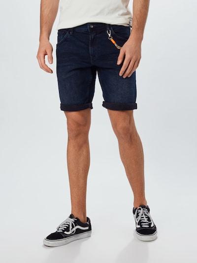 TOM TAILOR DENIM Jeansshorts in dunkelblau, Modelansicht