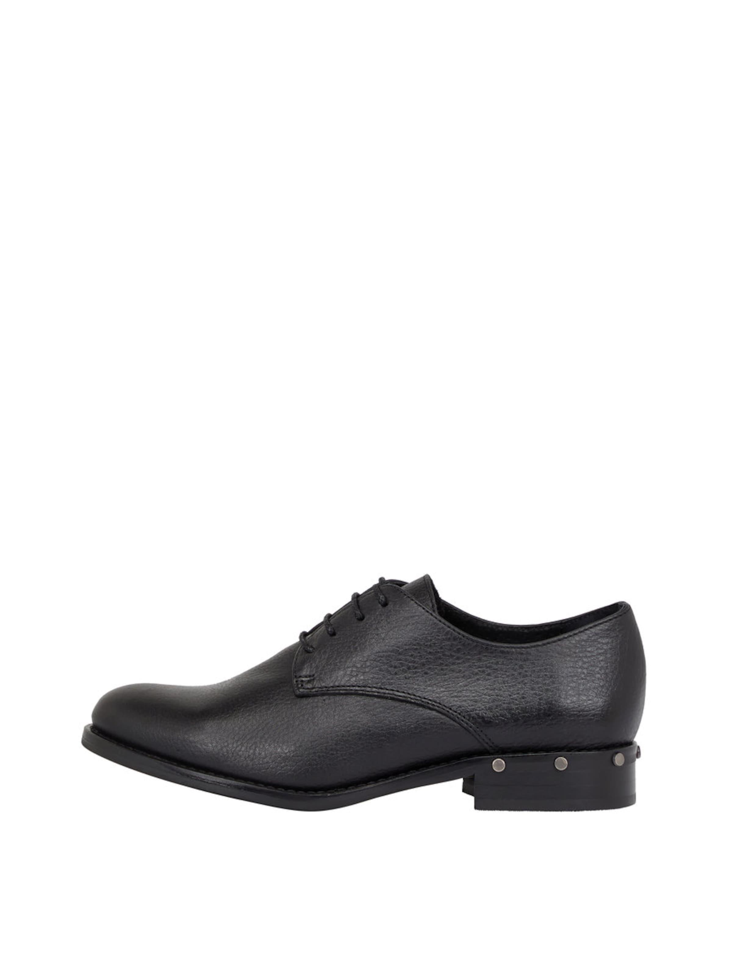 Bianco Nieten-Effekt-Derby-Schuhe Verschleißfeste billige Schuhe Hohe Qualität