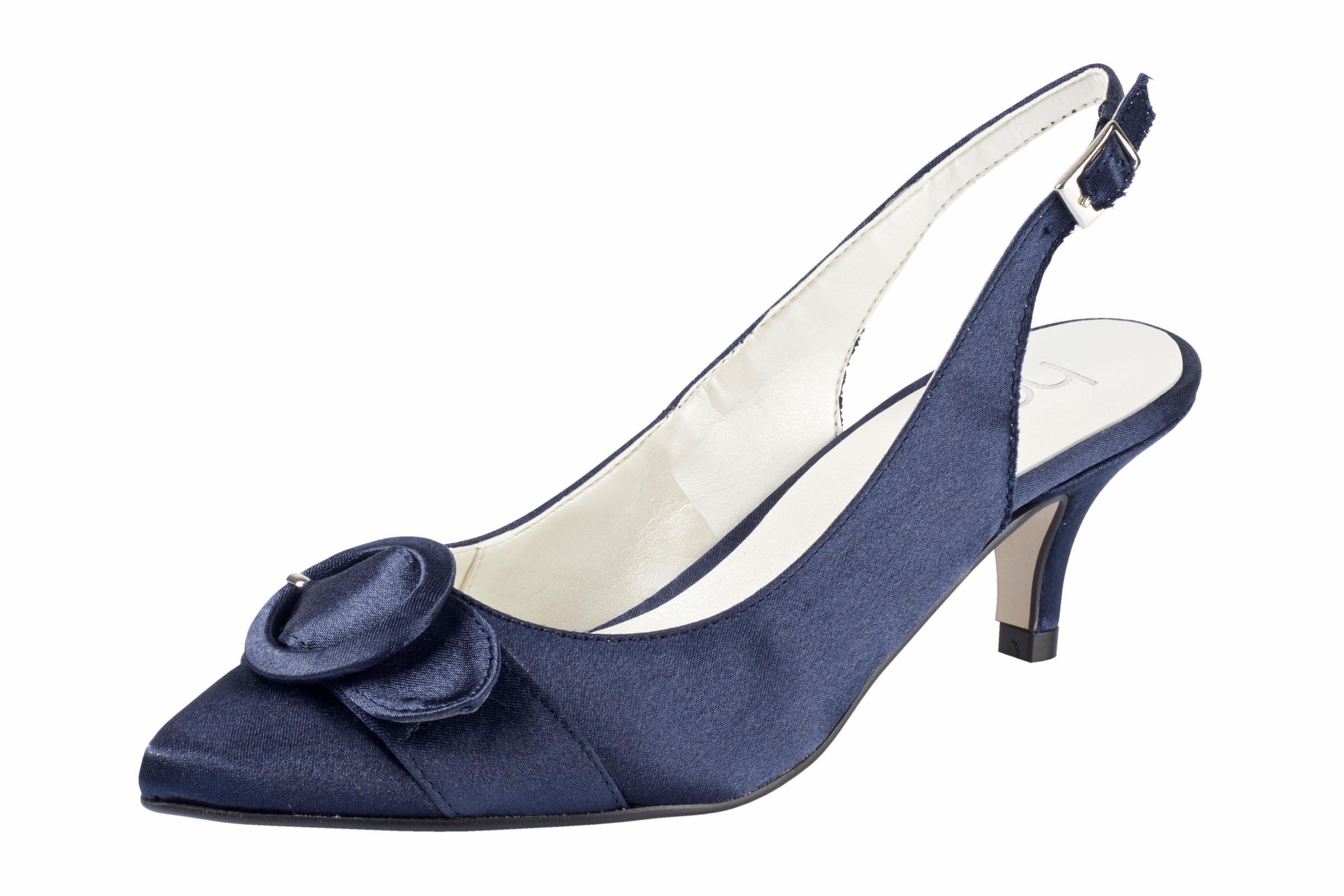 Haltbare Mode billige Schuhe heine | Slingpumps mit Zierschließe Schuhe Gut getragene Schuhe