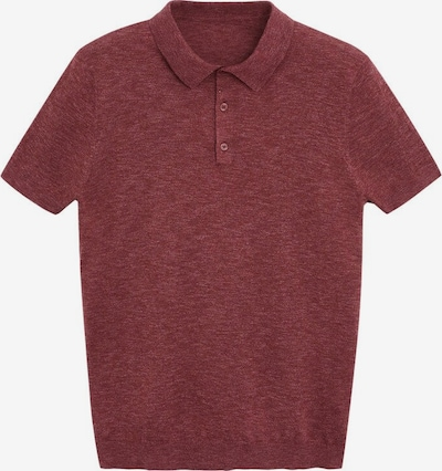 MANGO MAN Poloshirt 'Andrew' in bordeaux, Produktansicht