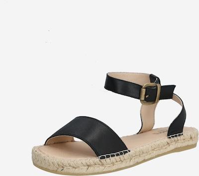 espadrij l´originale Sandale 'Nimes' in schwarz, Produktansicht