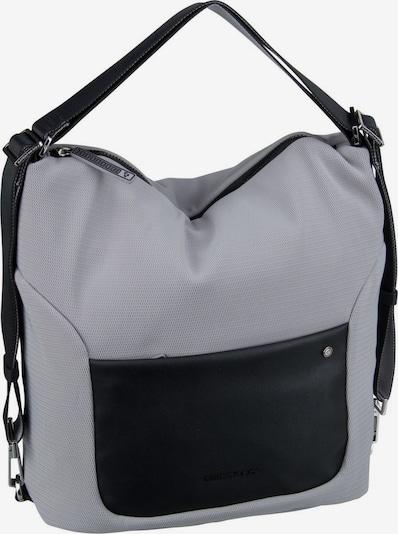 MANDARINA DUCK Handtasche ' Camden ' in grau / schwarz, Produktansicht