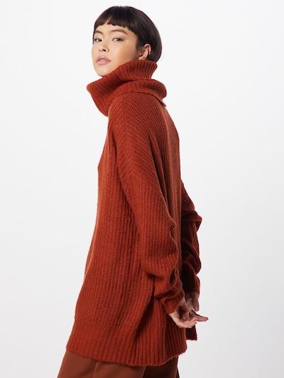 GLAMOROUS Sweter w kolorze rdzawoczerwonym: Widok od tyłu