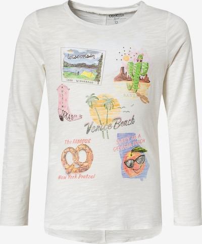 OshKosh Langarmshirt in mischfarben / weiß, Produktansicht