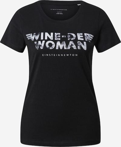Tricou EINSTEIN & NEWTON pe negru / alb, Vizualizare produs