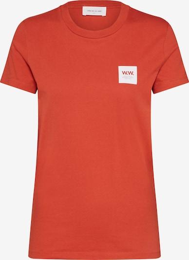 WOOD WOOD Shirt 'Eden' in rot, Produktansicht