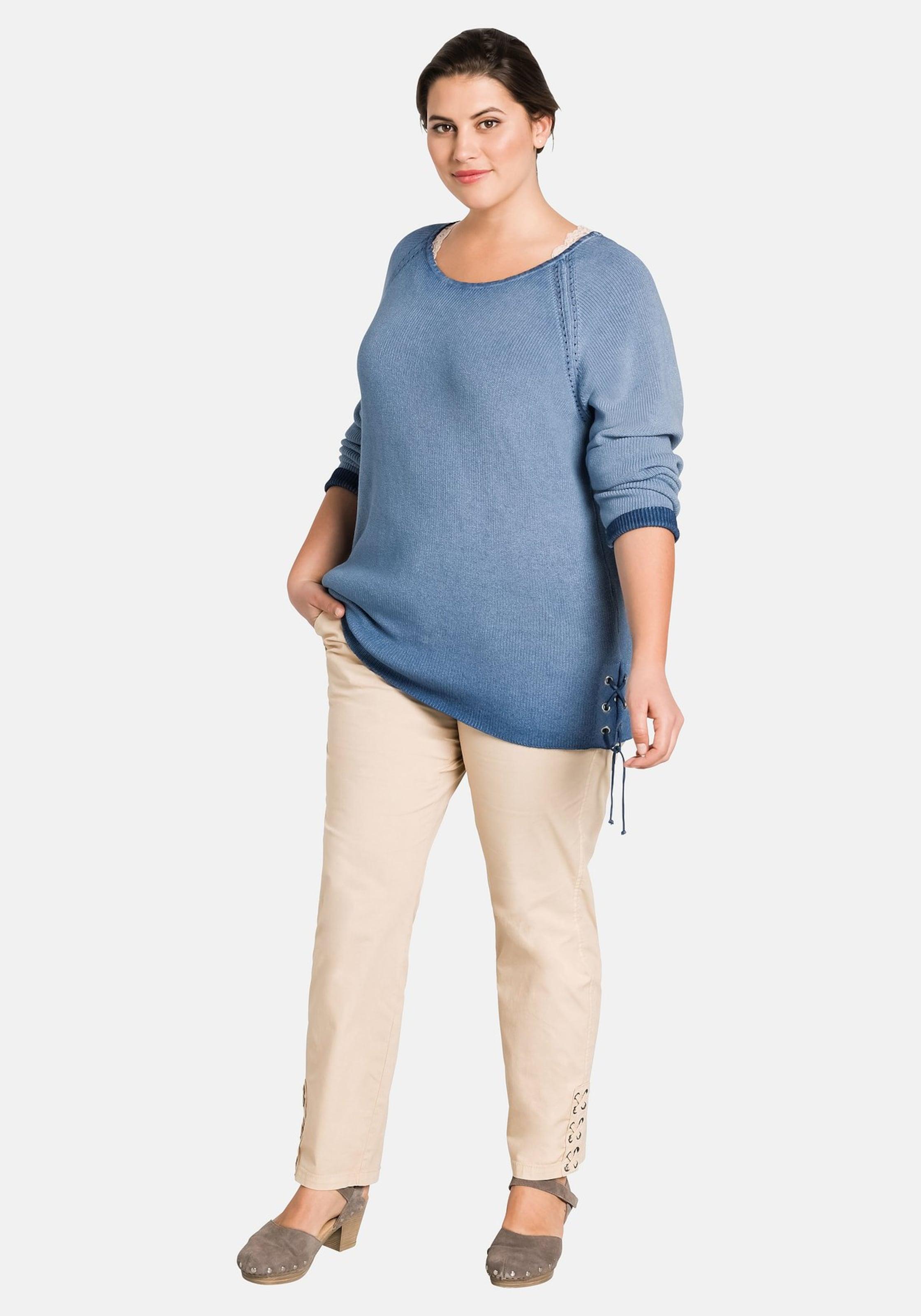 Pullover Rauchblau Pullover In Sheego In Rauchblau Sheego Sheego eodxrBQCW