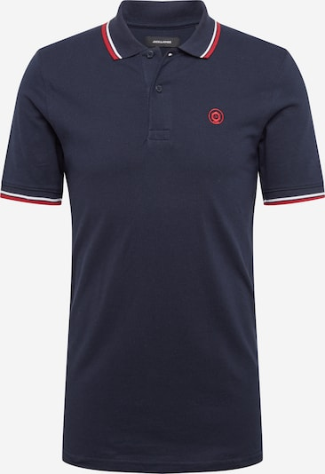 JACK & JONES Poloshirt 'JJENOAH' in navy, Produktansicht