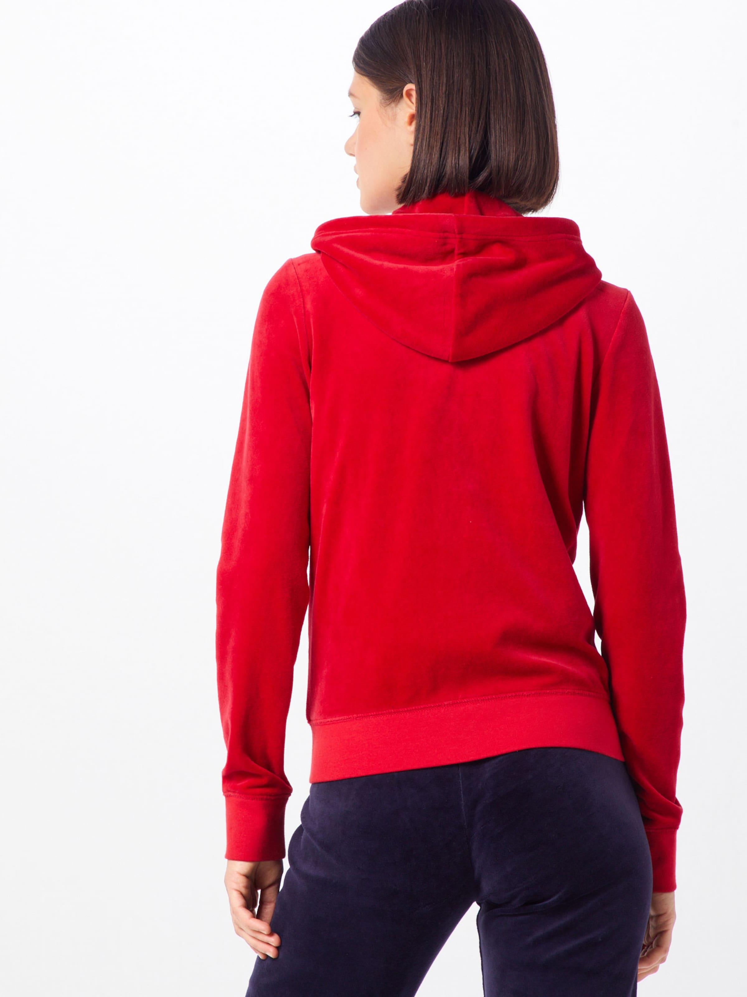 Black Juicy 'velour Rouge De En Label Veste Couture Survêtement Robertson' mNn0w8