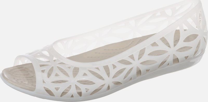 Crocs Isabella Jelly II Flat W Komfort-Ballerinas