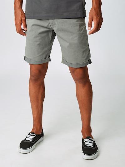 INDICODE JEANS Kalhoty 'Dignum' - šedá: Pohled zepředu