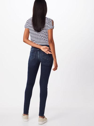Mavi Jean 'Adriana' en bleu denim: Vue de dos