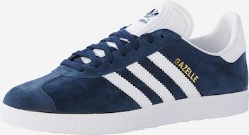 ADIDAS ORIGINALS Rövid szárú edzőcipők 'Gazelle' - kék