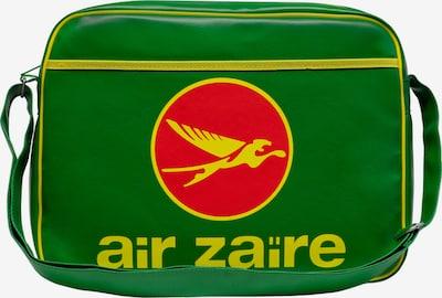 LOGOSHIRT Tasche 'Air Zaire' in gelb / grün / rot, Produktansicht