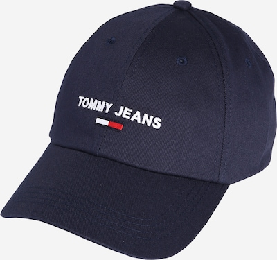 Tommy Jeans Cap in marine / rot / weiß: Frontalansicht