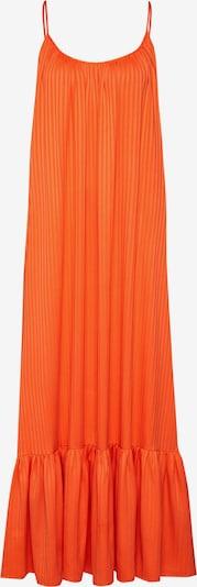 Y.A.S Jurk 'YASLEORA STRAP MAXI DRESS FT' in de kleur Sinaasappel: Vooraanzicht