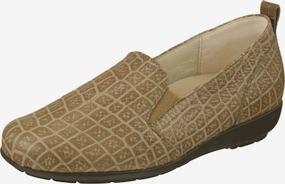 Natural Feet Slipper in beige / hellbraun, Produktansicht