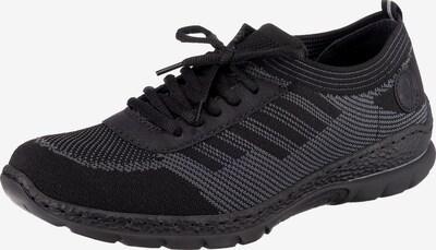 RIEKER Sneaker in graumeliert / schwarz, Produktansicht