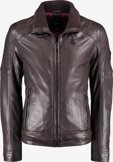 DNR Jackets Lederjacke in braun, Produktansicht