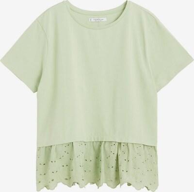 VIOLETA by Mango T-shirt 'Dolsa' in hellgrün, Produktansicht