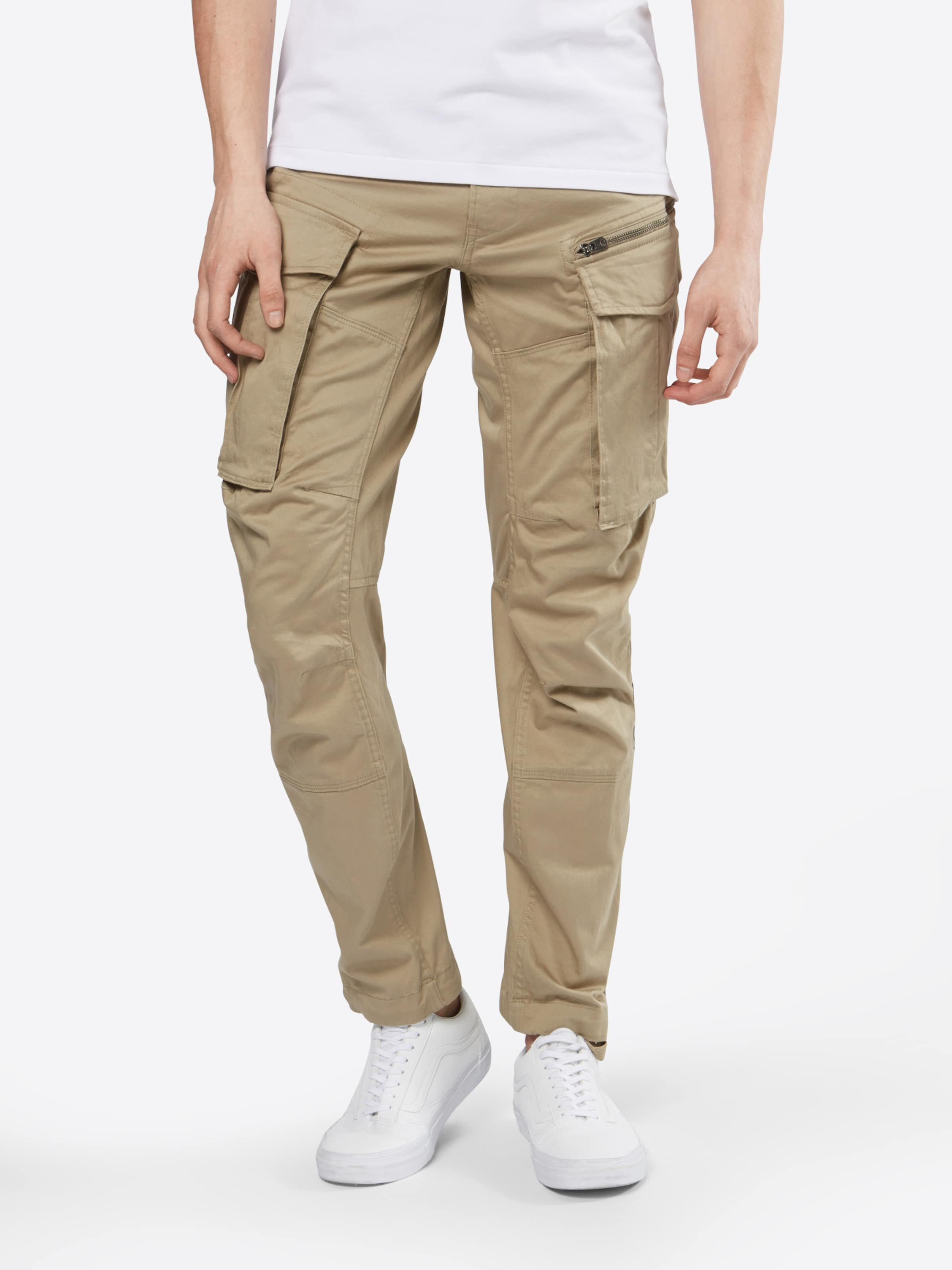 Raw 3d Pantalon En Cargo star 'rovic G Tapered' Beige srtQdhCx