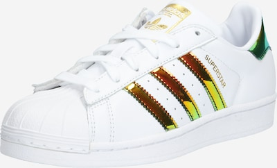 Sneaker low 'SUPERSTAR W' ADIDAS ORIGINALS pe culori mixte / alb, Vizualizare produs
