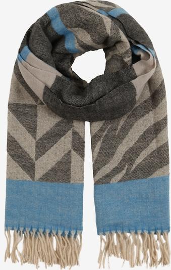 STREET ONE Schal in rauchblau / hellbraun / graumeliert, Produktansicht