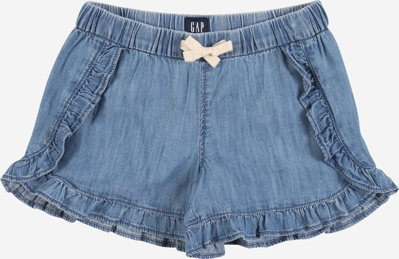 GAP Shorts 'DOLPHIN' in blue denim, Produktansicht