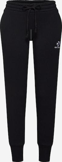 CONVERSE Hose in schwarz / weiß, Produktansicht